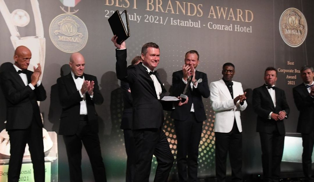 Mbanq Awarded Best Corporate Brand at MENAA 2021